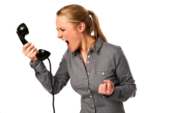 gérez émotions téléphone prospection