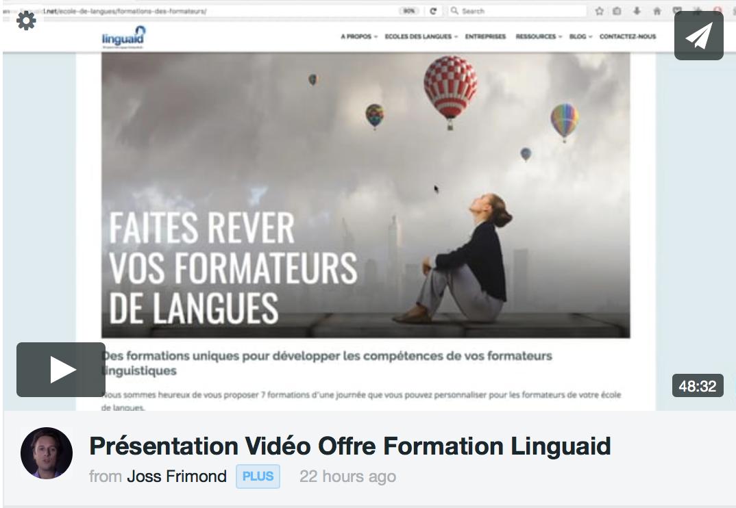 video présentation linguaid